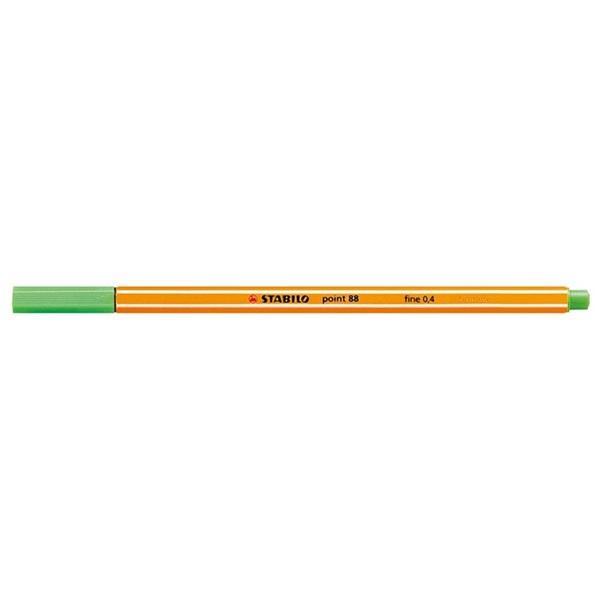 Stabilo Point 88/43 világoszöld tűfilc - 1