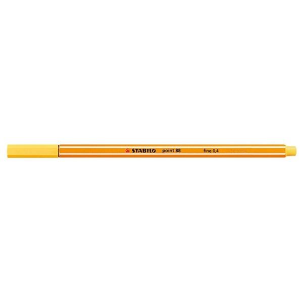 Stabilo Point 88/44 sárga tűfilc - 1