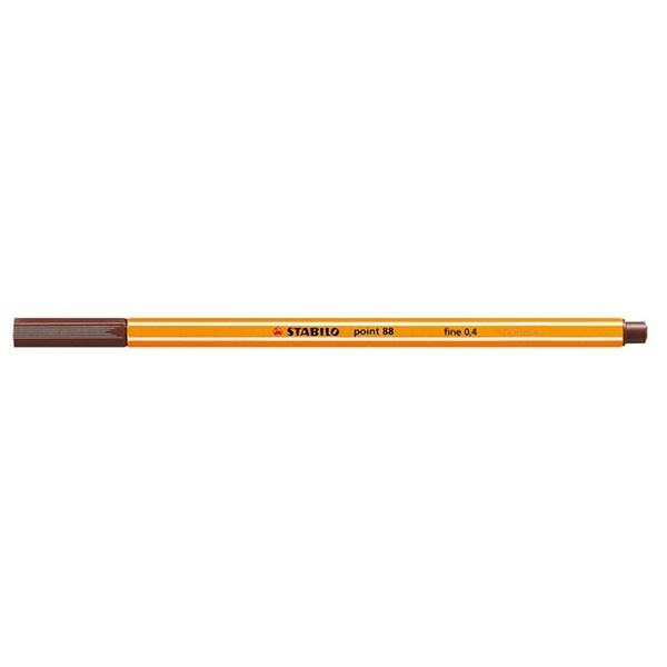 Stabilo Point 88/45 barna tűfilc - 1