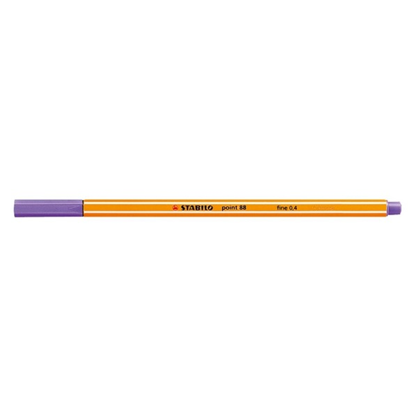 Stabilo Point 88/55 viola tűfilc - 1