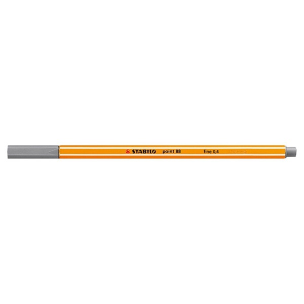 Stabilo Point 88/94 világosszürke tűfilc - 1