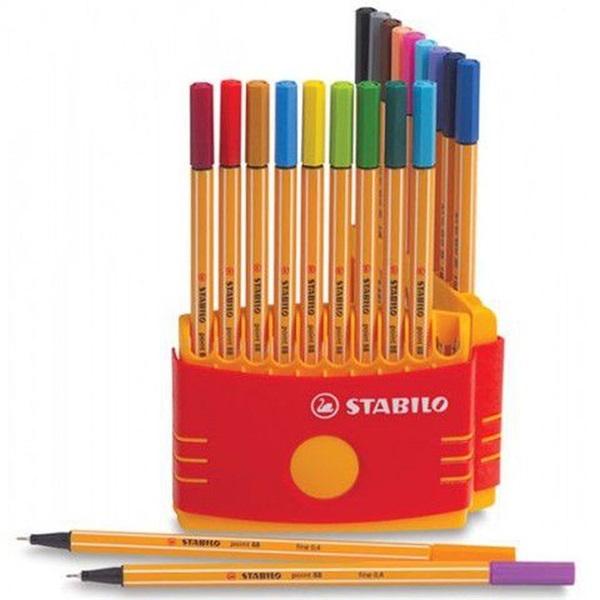 Stabilo Point 88 Color Parade 20db-os vegyes színű tűfilc készlet - 1