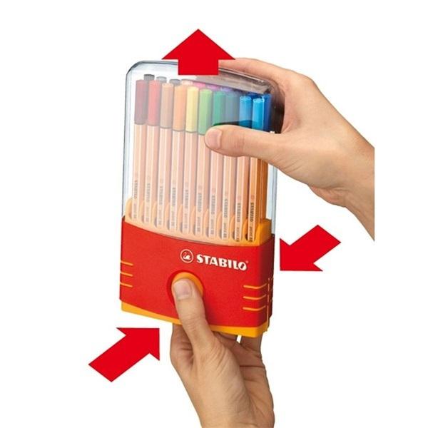 Stabilo Point 88 Color Parade 20db-os vegyes színű tűfilc készlet - 2