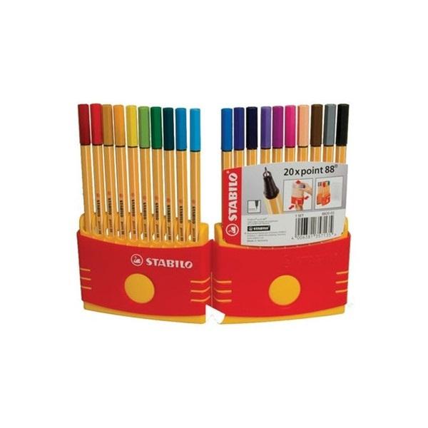Stabilo Point 88 Color Parade 20db-os vegyes színű tűfilc készlet - 3