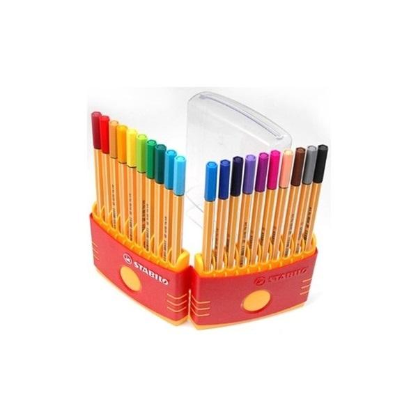 Stabilo Point 88 Color Parade 20db-os vegyes színű tűfilc készlet - 4
