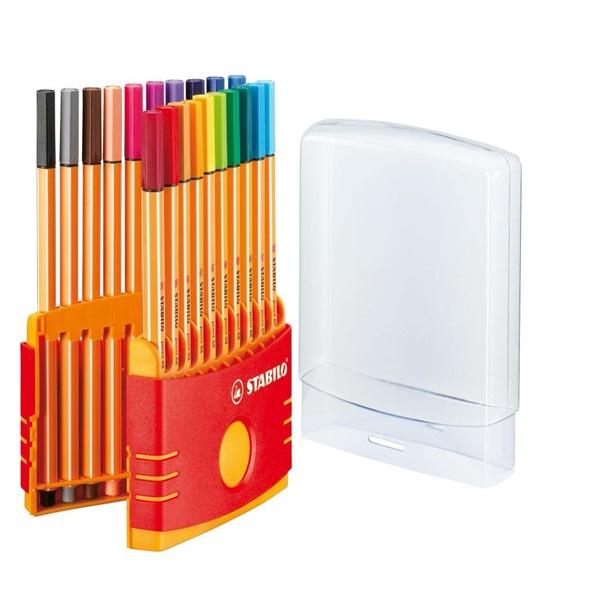 Stabilo Point 88 Color Parade 20db-os vegyes színű tűfilc készlet - 6