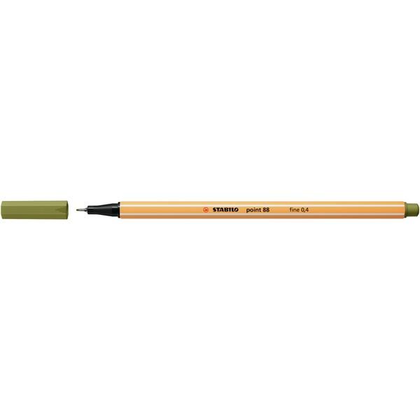 STABILO point 88 sárzöld tűfilc - 1