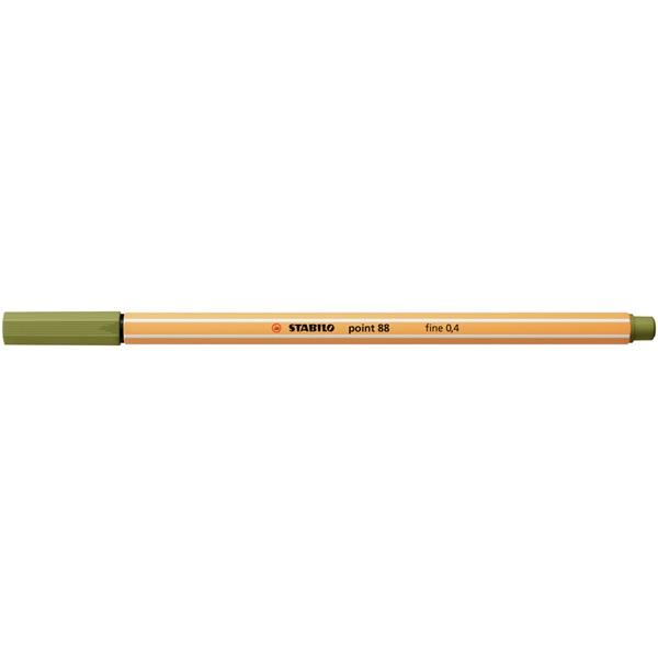STABILO point 88 sárzöld tűfilc - 2