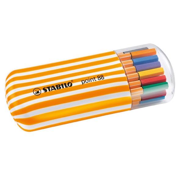 Stabilo Point 88 Zebrui 20db-os vegyes színű tűfilc készlet - 1