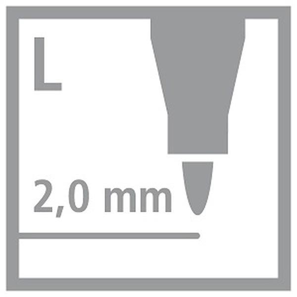 Stabilo POWER 12db-os vegyes színű filctoll készlet - 3