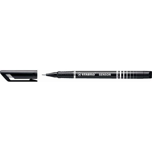 Stabilo SENSOR fekete tűfilc - 1