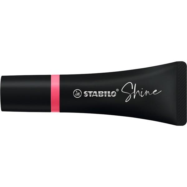Stabilo Shine pink szövegkiemelő - 1