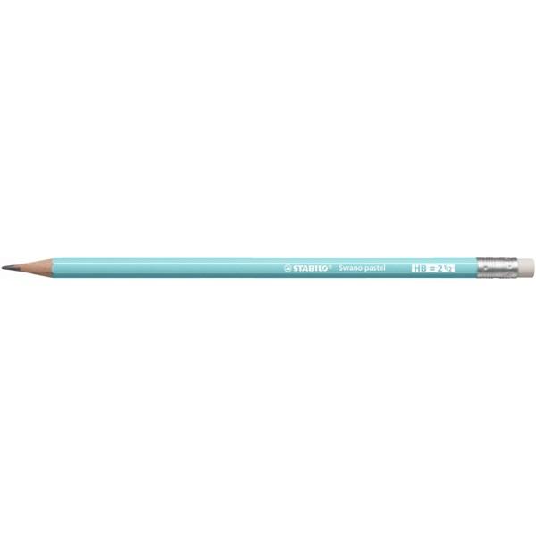 Stabilo Swano HB radíros pasztell kék grafitceruza - 1