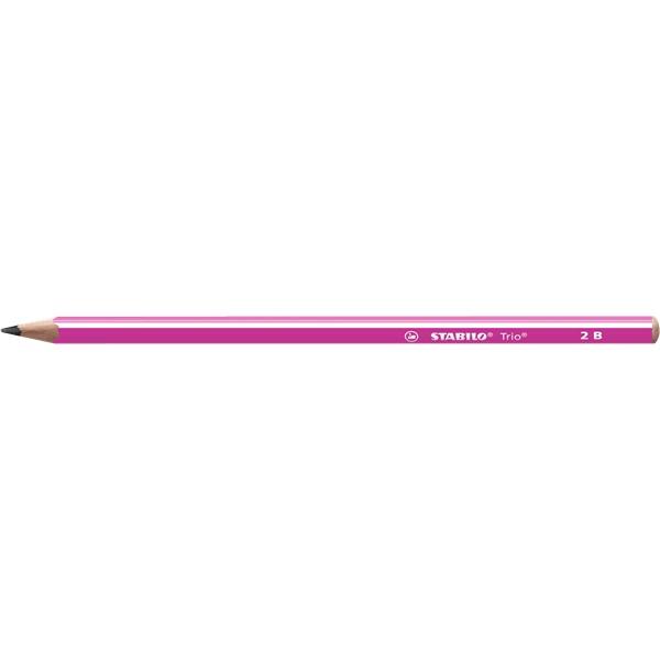 STABILO Trio 2B pink grafitceruza - 1