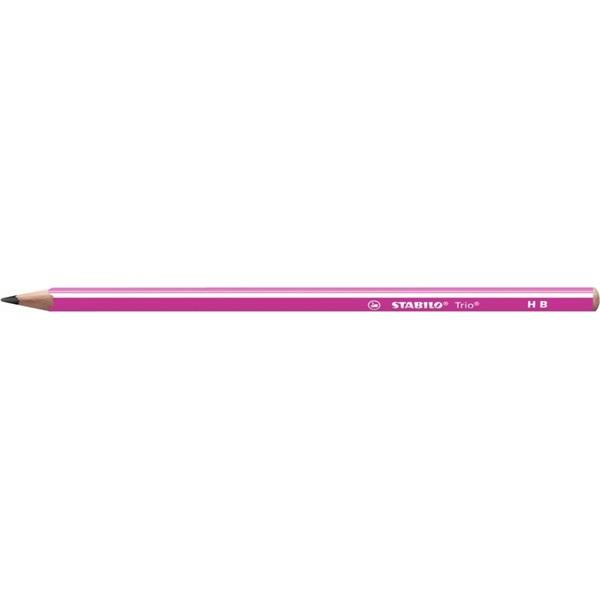 Stabilo Trio HB pink grafitceruza - 1
