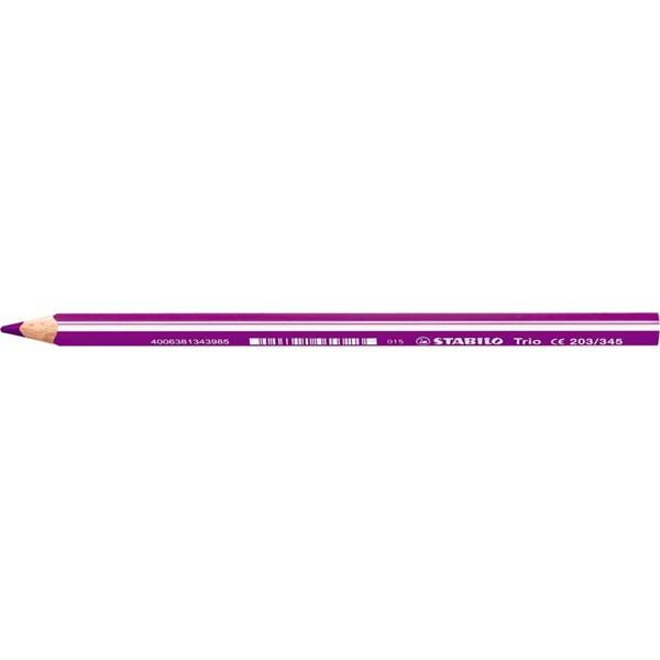 Stabilo Trio lila színes ceruza - 1