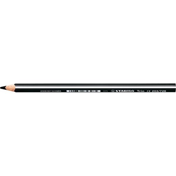 Stabilo Trio vastag fekete színes ceruza - 1