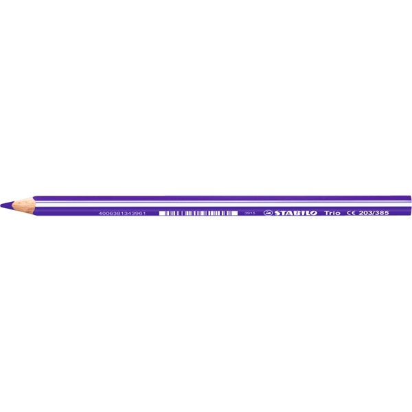 Stabilo Trio vastag sötétlila színes ceruza - 1