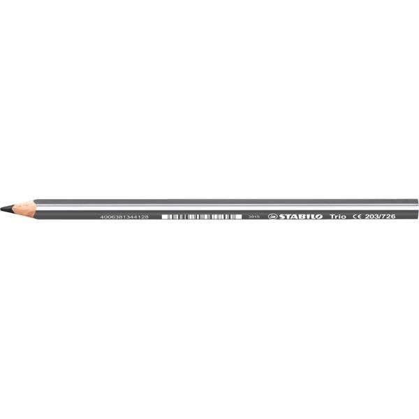 Stabilo Trio vastag szürke színes ceruza - 1