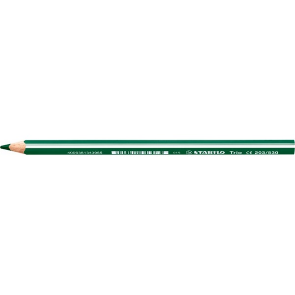 Stabilo Trio vastag zöld színes ceruza - 1