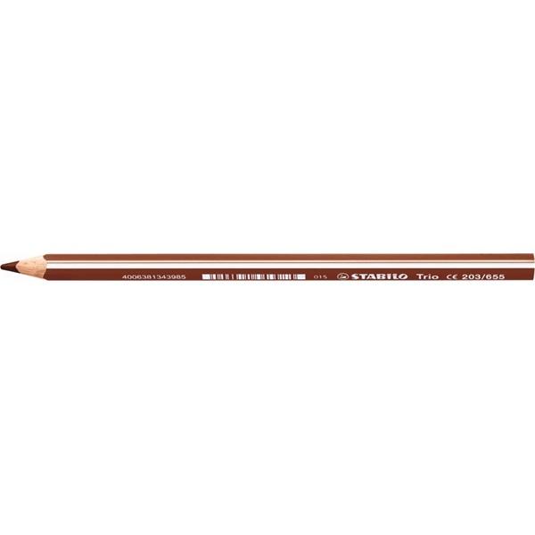 Stabilo Trio világosbarna színes ceruza - 1