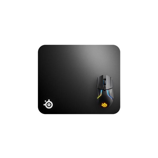 SteelSeries QCK Hard Pad világító gamer egérpad - 1