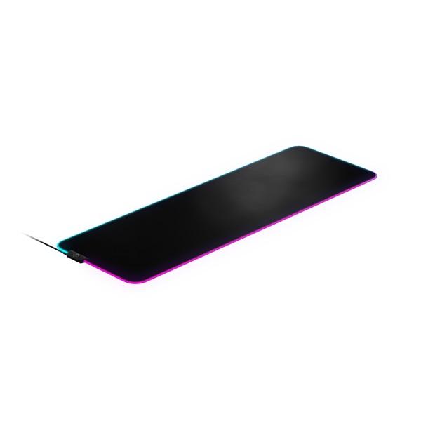 SteelSeries QCK Prism Cloth XL világító gamer egérpad - 2