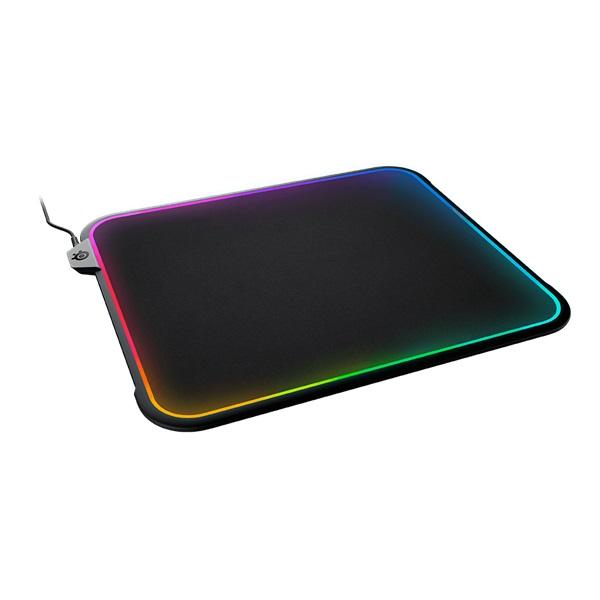 SteelSeries QCK Prism RGB Cloth Medium világító gamer egérpad - 1