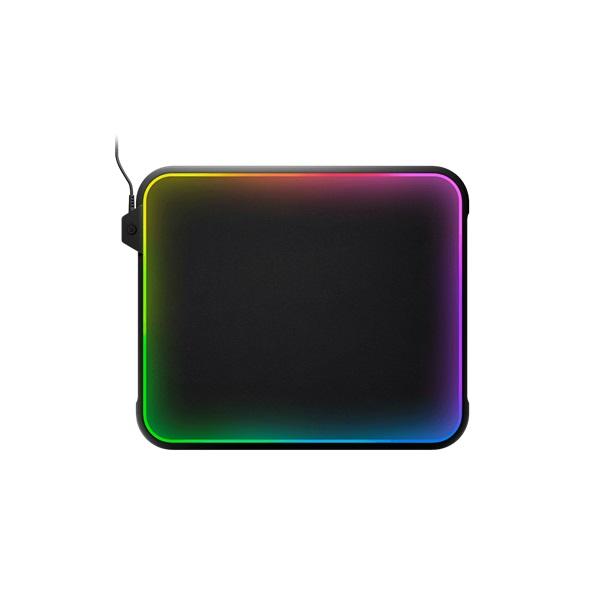 SteelSeries QCK Prism RGB Cloth Medium világító gamer egérpad - 2