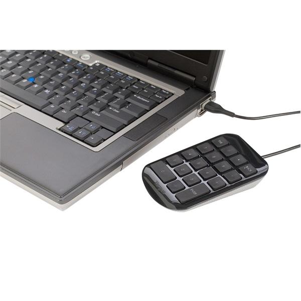 Targus AKP10EU Numeric Keypad USB fekete vezetékes numerikus billentyűzet - 2
