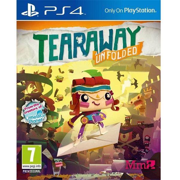 Tearaway Unfolded PS4 játékszoftver - 1