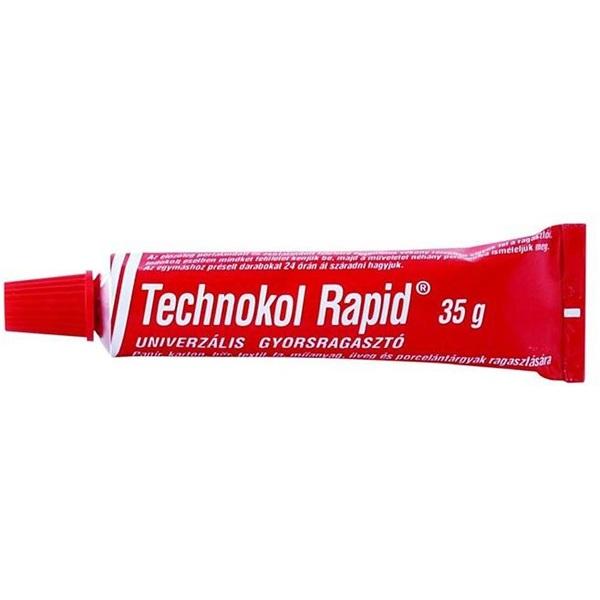 Technokol Rapid 35g piros ragasztó - 1