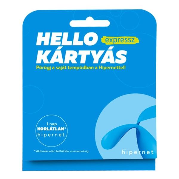 Telenor Hello Kártyás Expressz csomag - 1