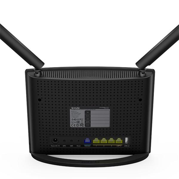 Tenda AC9 AC1200 Smart Dual-Band Gigabit vezeték nélküli router - 3