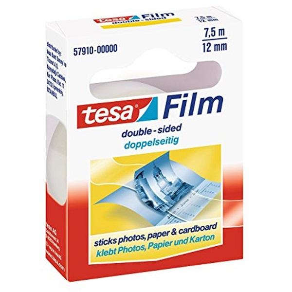 Tesa 7,5mmx12m kétoldalas ragasztószalag - 1