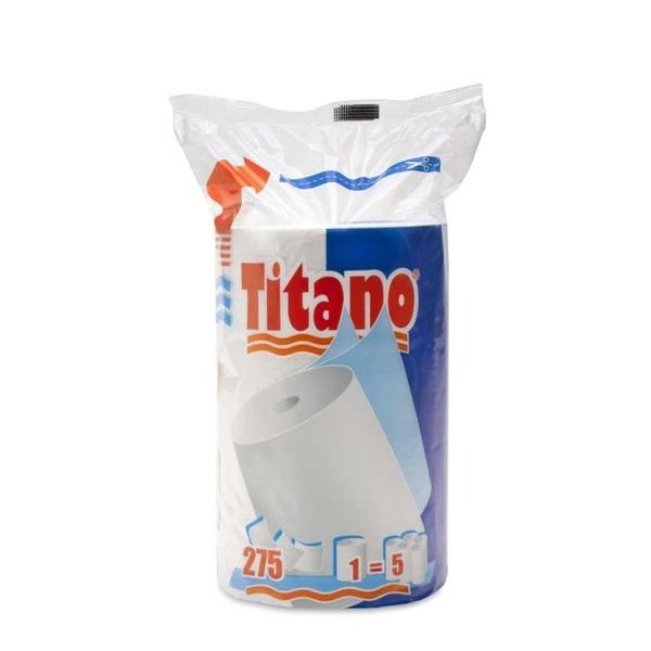 Titano 2 rétegű 275 lap/tekercs 66 fm/tekerecs háztartási papírtörlő - 1