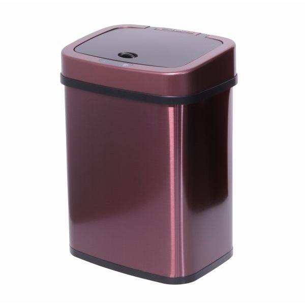 TOO 12 literes rózsaarany rozsdamentes acél szenzoros szemetes - 1