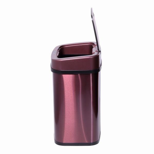 TOO 12 literes rózsaarany rozsdamentes acél szenzoros szemetes - 4