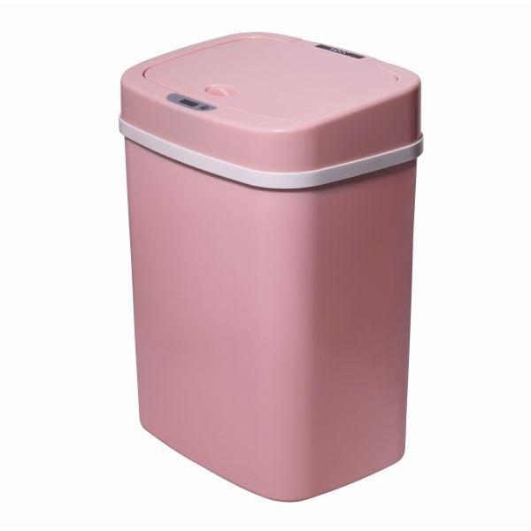 TOO 12 literes rózsaszín szenzoros szemetes - 1