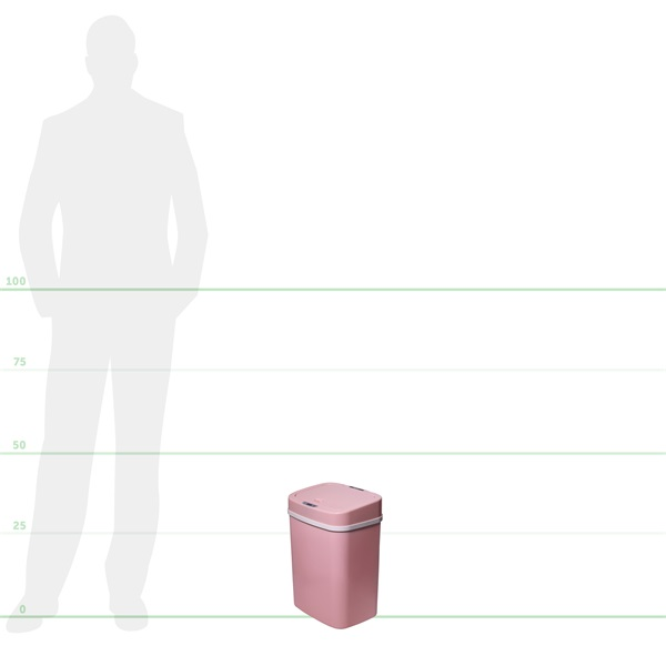 TOO 12 literes rózsaszín szenzoros szemetes - 6