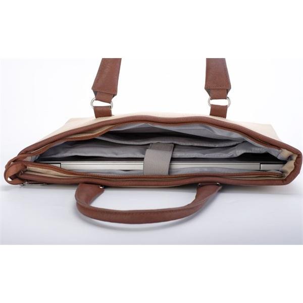 TOO 15,6 bézs női notebook táska - 4