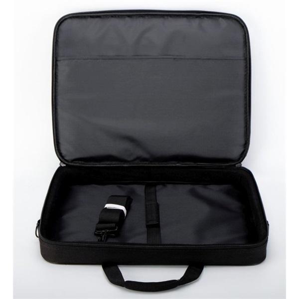 TOO 15,6 fekete notebook táska fehér dekor csíkkal - 4