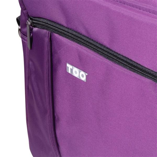 TOO 15,6 lila notebook táska - 2