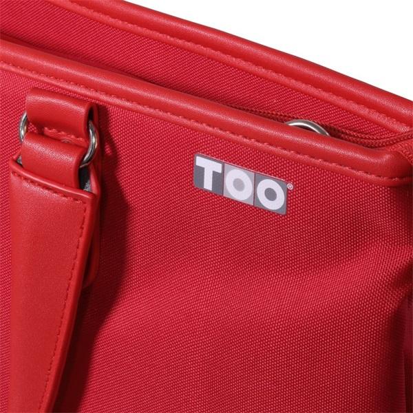 TOO 15,6 piros női notebook táska - 2