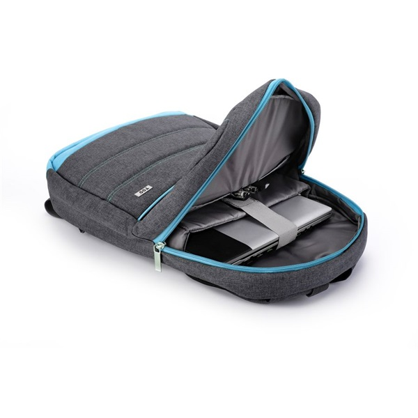 TOO 15,6 szürke hátizsák - 3