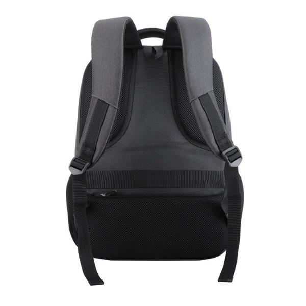 TOO 15,6 USB portos szürke hátizsák - 4