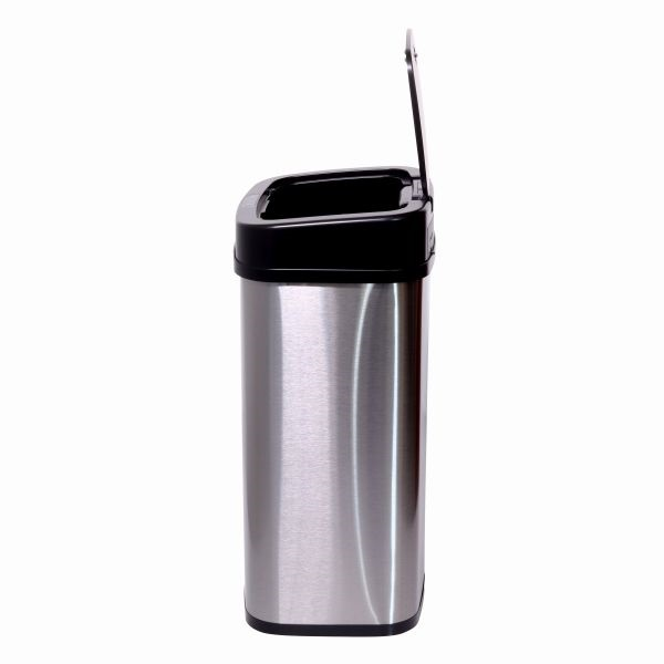 TOO 15 literes rozsdamentes acél szenzoros szemetes - 4