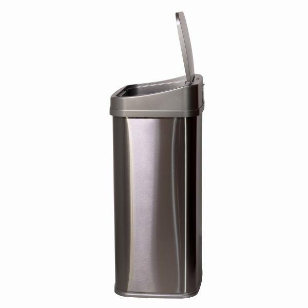 TOO 50 literes rozsdamentes acél szenzoros szemetes - szürke fedővel - 8