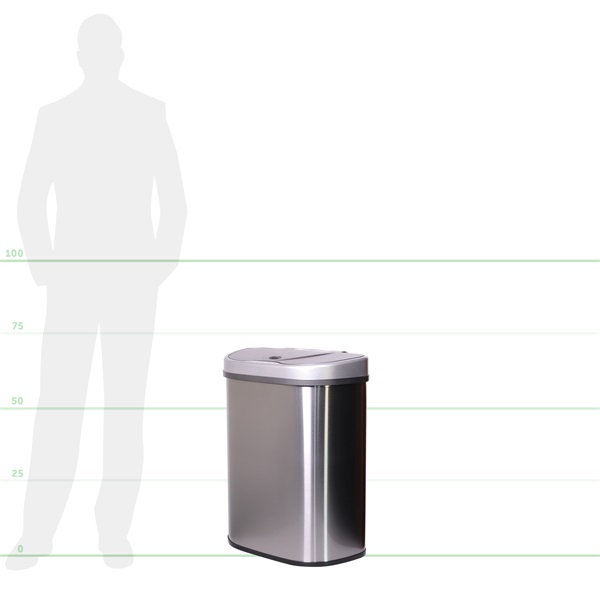 TOO 70 literes rozsdamentes acél szenzoros szemetes - 6