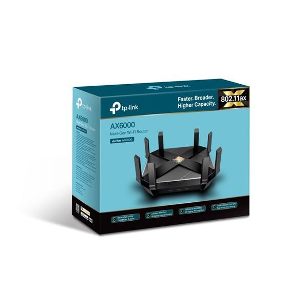 TP-Link Archer AX6000 AC6000 Wi-Fi 6 Dual-Band MU-MIMO Vezeték nélküli Gigabit Router - 5